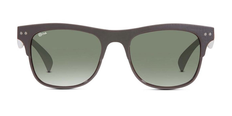 Nova Shell  Rectangular Sunglasses -FRANKIE